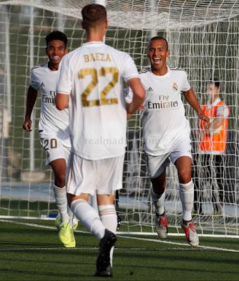 Victoria trabajada. Real Madrid Castilla 2-1 Pontevedra.
