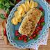 Bacalhau Fresco com Crosta de Broa, Queijo Alavão e Ervas