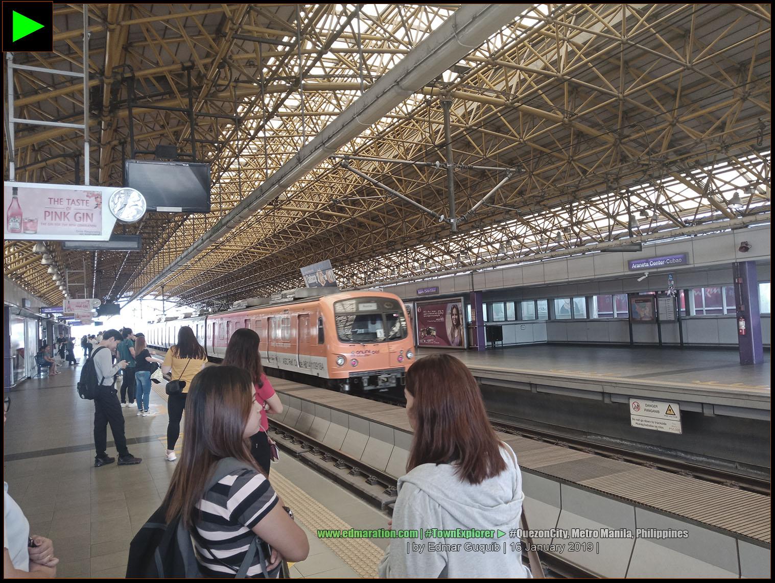 CUBAO LRT STATION