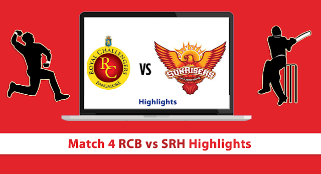 IPL 2016 Match4 SRH Vs RCB At Bangalore Match Prediction And Ball By Ball Update