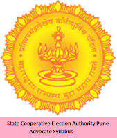 State Cooperative Election Authority Pune Advocate Syllabus