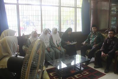 Kemenag Tanjungbalai Terima PKL Siswa SMK Negeri 4 Informatika