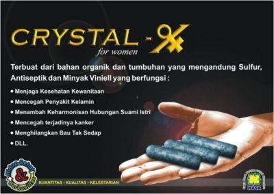 Mencegah Kanker Serviks dengan Crystal X ~ RAHASIA WANITA ...