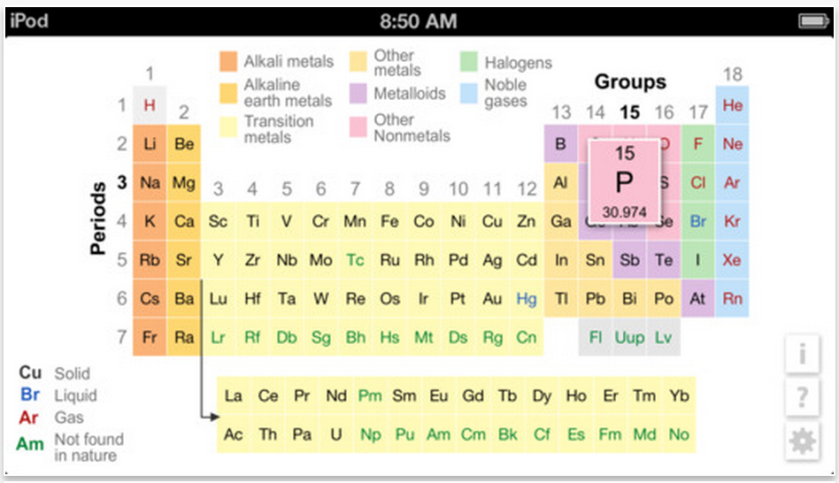 A handy periodic table of the elements for k12 teachers and students k12 periodic table of the elements created by k12 inc as part of its comprehensive science curriculum is particularly idea for helping students with their urtaz Image collections