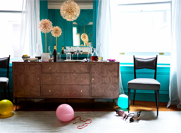 The Dressers (shown Above And Below) Are Absolutely Stunning, Not To  Mention Kate Spadeu0027s Stunning Dark Wood Coffee Table Shown Toward The  Bottom Of This ...