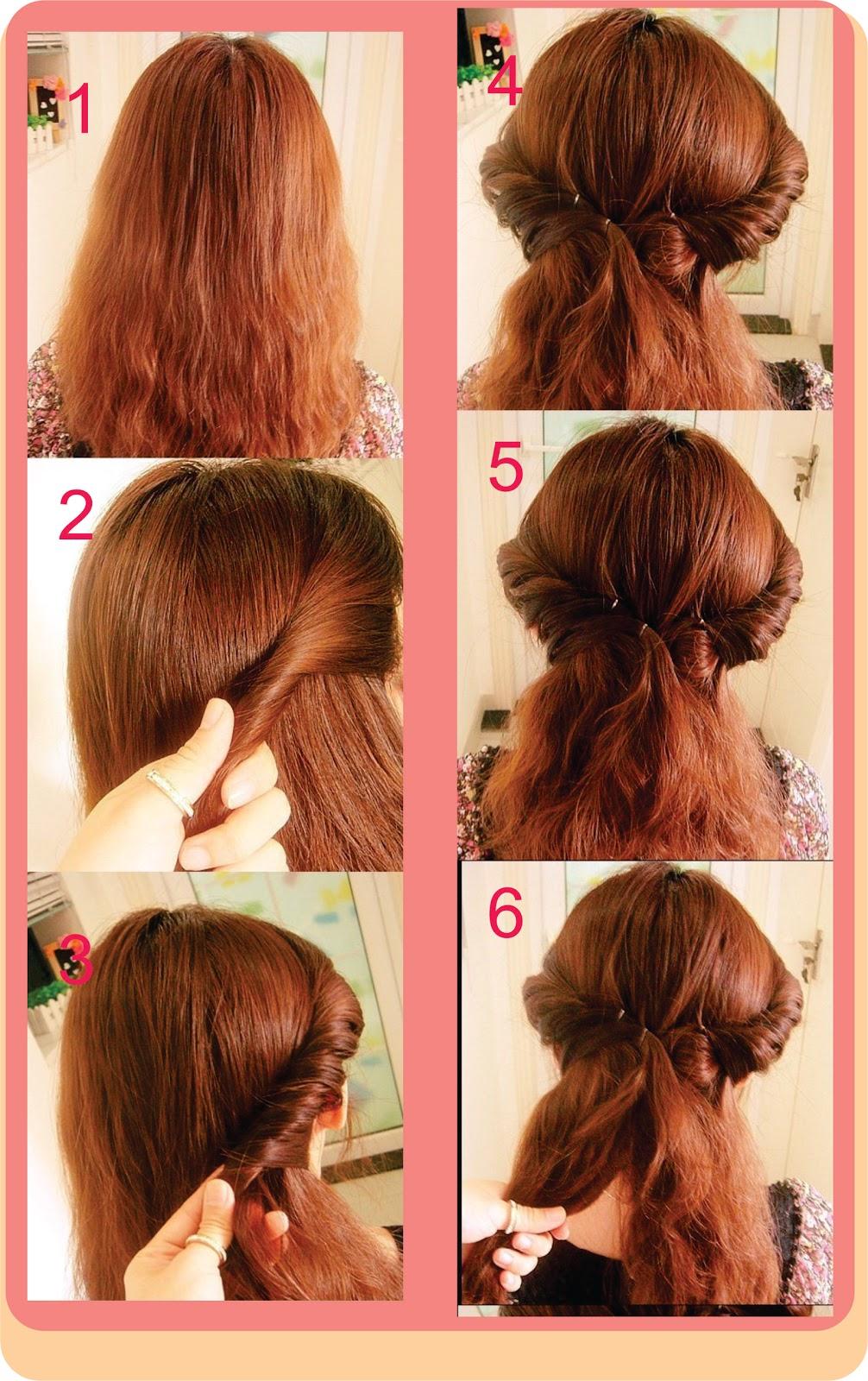 Peinados Sencillos Paso A Paso - 5 peinados fáciles paso a paso para diario Belleza