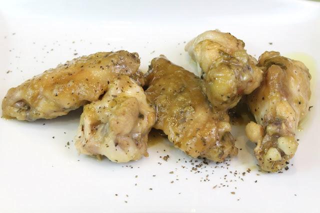 Pollo al ajillo con Thermomix