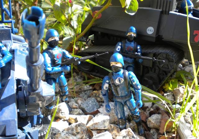 1983 Viper Pilot, Cobra Trooper, ASP, 1984, Hiss Tank