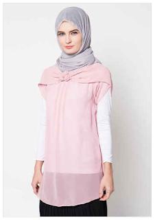 10 Contoh Model Baju Muslim Atasan Wanita Model Terkini Update