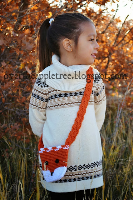 Girl's Fox Purse by Over The Apple Tree
