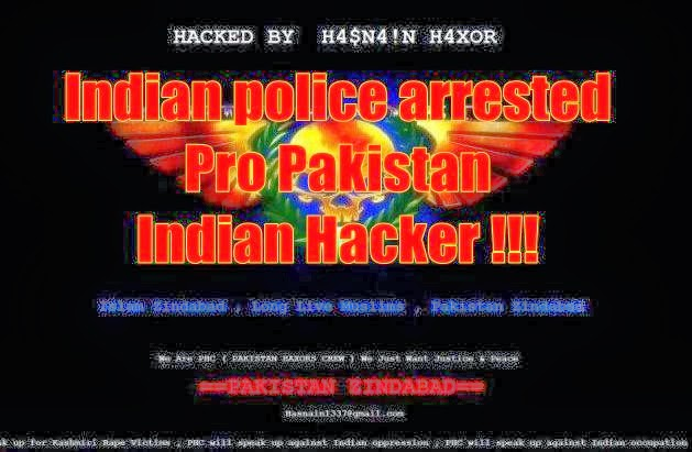 Indian Hacker Arrested For Restoring Hacked Site - Free