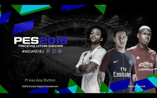 تحميل باتش PES 2017 Next Season Patch 2018