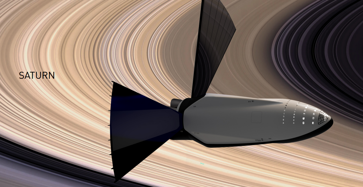 Spacex ITS rocket could get to Saturn's moon Titan in 400
