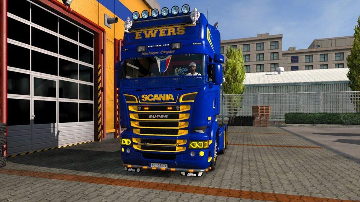 Ewers Transport Skin for Scania RJL