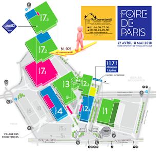 PLAN FOIRE DE PARIS 2018