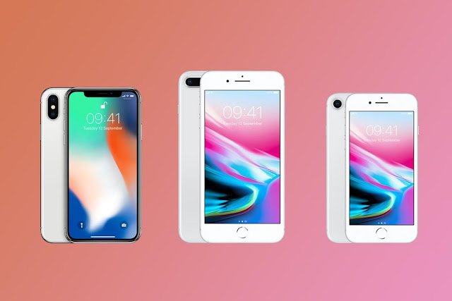 Iphone X vs Iphone 8 vs iphone 8 plus, perbedaanya