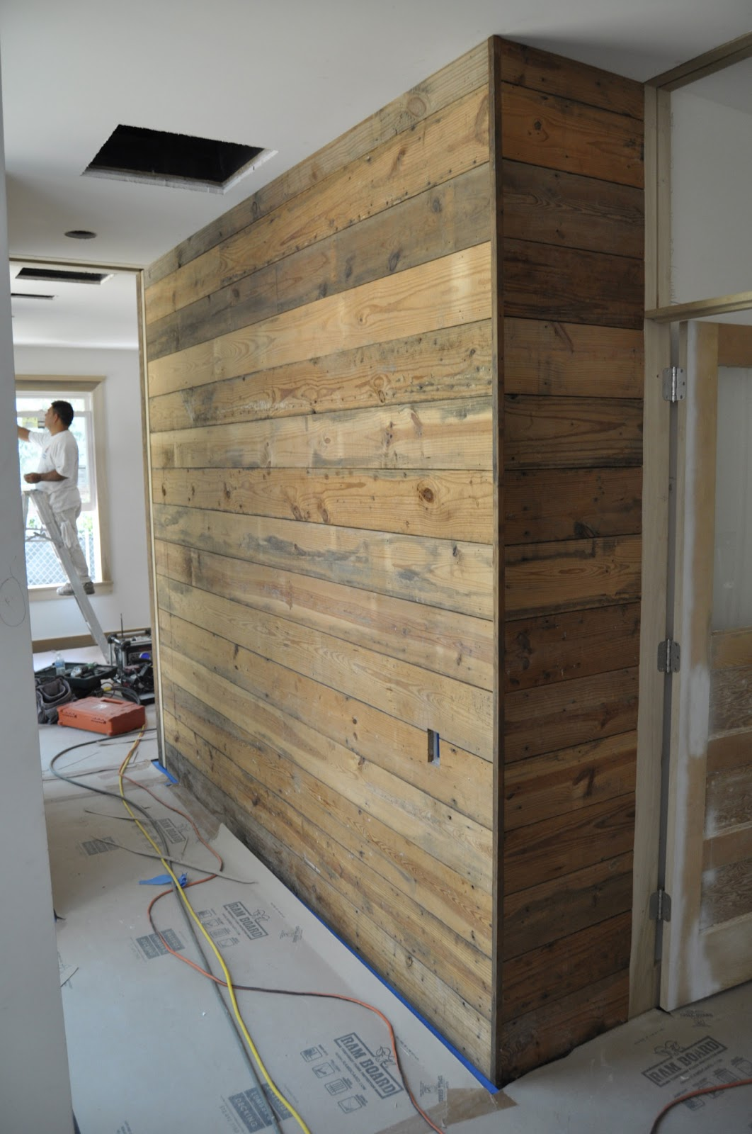 Finally We Worked With Fab Architecture On This Remodel Below What You Are Seeing Is An Oak Paneled Bat Wall Two Hidden Doors
