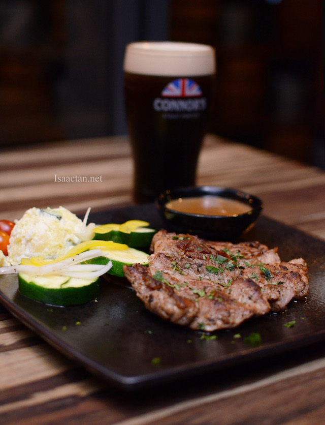 Signature Pork Shoulder With Home-made Connor's Sauce RM39++ (Paired with Connor's RM 53++)