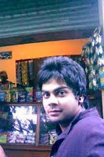 Virat Kohli rare pic