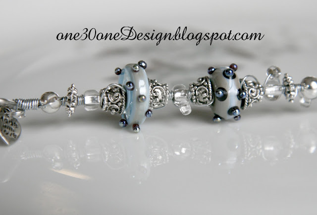 Cake Tester with Lampwork Beads by One30oneDesign