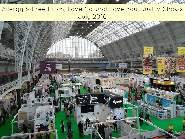 The Allergy & Free From Show 2016 Love Natural, Love You & Just V Shows