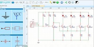 Design Scematic Diagram Rangkaian Elektronika online
