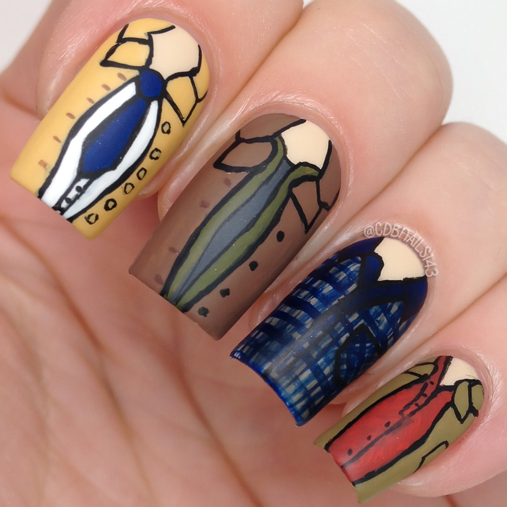 cdbnails: 31 Day Challenge | Day 29 | Inspired by The Supernatural