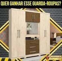 Promoção Esplanada Móveis Páscoa 2019 - Concorra Guarda-Roupas