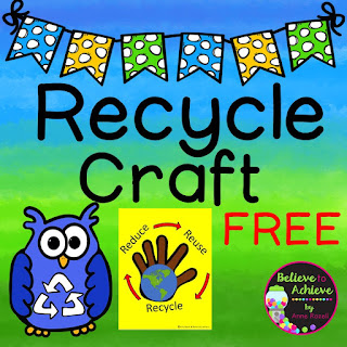 https://www.teacherspayteachers.com/Product/Recycling-Craft-FREE-3027398