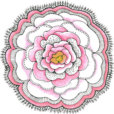 Free Doodle Flower Clipart