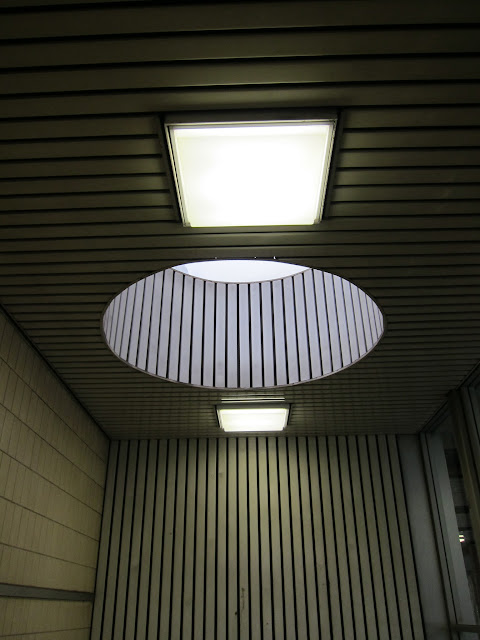 Skylight in a St Clair subway station stairwell