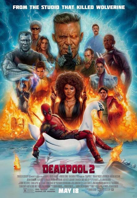 "nuevo póster de ""DEADPOOL 2"" - Marvel Comics"