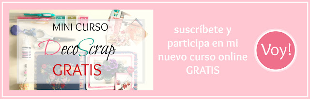 Curso DecoScrap - Newsletter