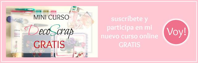 Curso DecoScrap - Newsletter