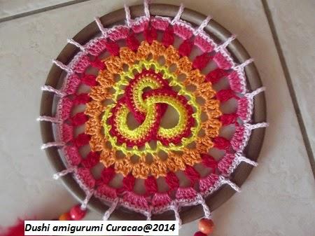 Gehaakte Keltische Mandala Dreamcatcher Triquetra Forum