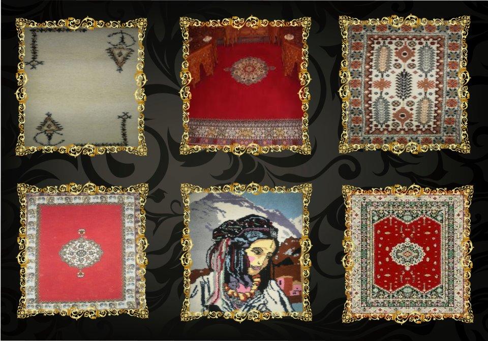 fabrication des tapis marocain tapis fait main fabriqu de mani re traditionnelle du maroc. Black Bedroom Furniture Sets. Home Design Ideas