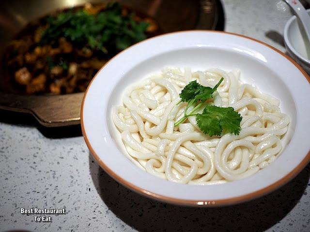 CHUANXI BAZI - HOT POT - Add On Menu - Udon Noodles