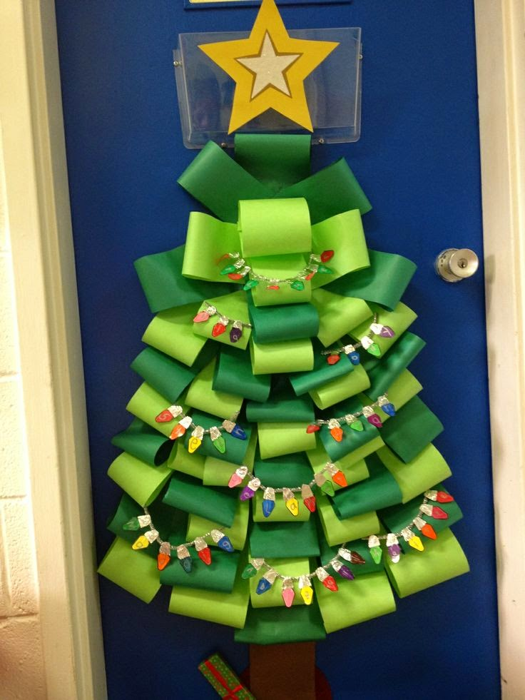 Simple As 1 2 3 Christmas Classroom Door Ideas