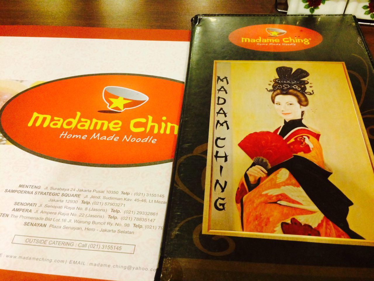 Madame Ching Menteng