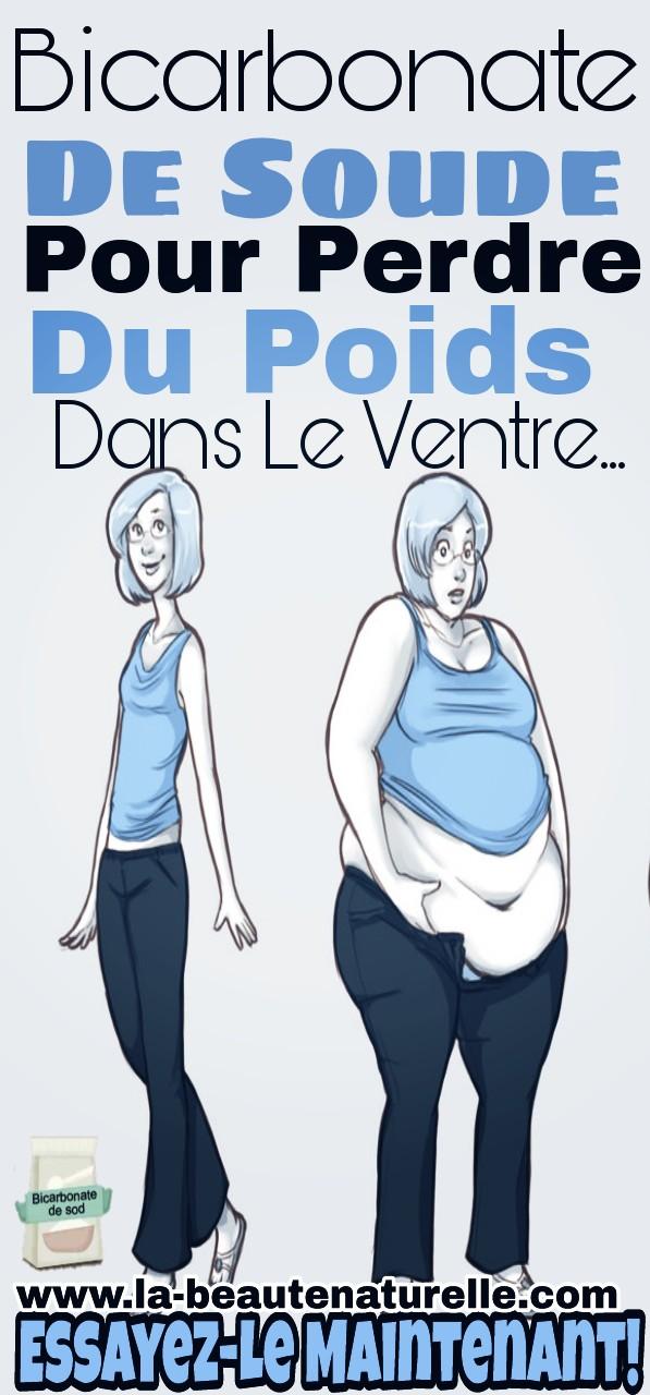 Bicarbonate de soude pour perdre du poids dans le ventre... Essayez-le maintenant!