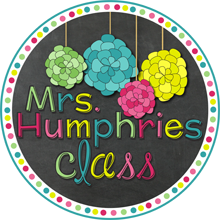 grab button for Mrs. Humphries Class