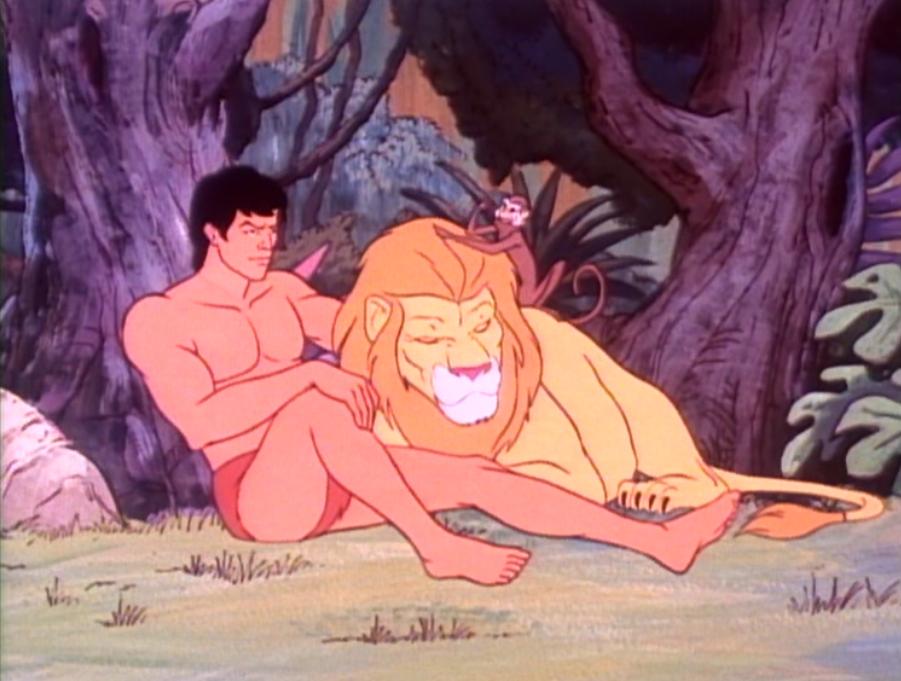 Тарзан - порно мультик
