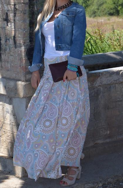denim jacket outfit how to wear denim jacket giubbino jeans come abbinare un gubbino jeans abbinamenti gubbino jeans denim jacket how to wear denim jacket outfit ottobre 2016 outfit autunnali mariafelicia magno fashion blogger colorblock by felym fashion blog italiani fashion blogger italaine blogger italiane di moda web influencer italiane fashion bloggers italy