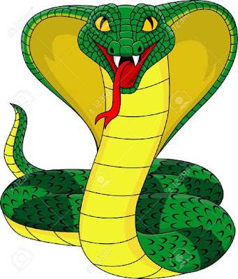 """Cobra: Final Observations"" by Mayan Guy 6/11/17 13446418-King-cobra-Stock-Vector-cobra-snake-cartoon"