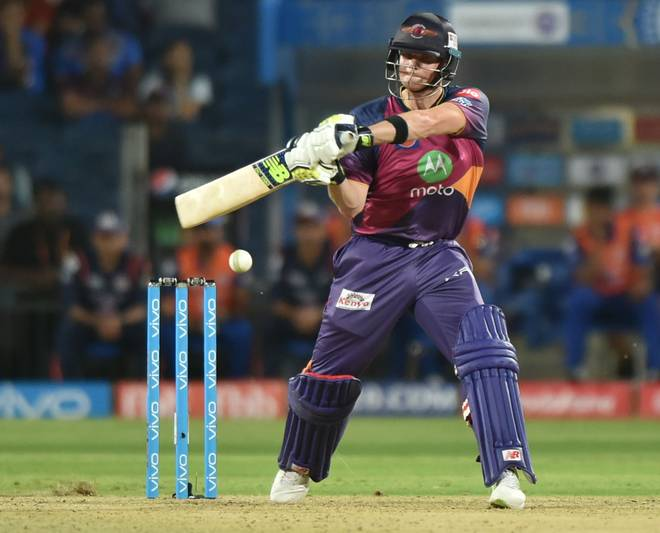 RPS victory against Mumbai Indians coz of Steve Smith's 84 of 54 balls …