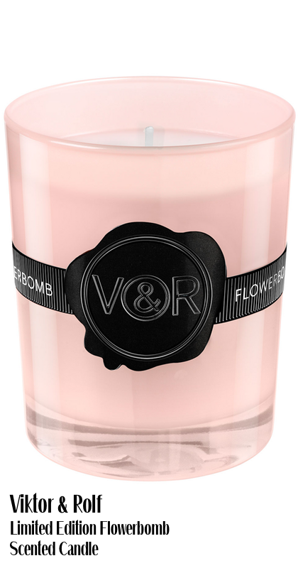 Viktor & Rolf Limited Edition Flowerbomb Scented Candle
