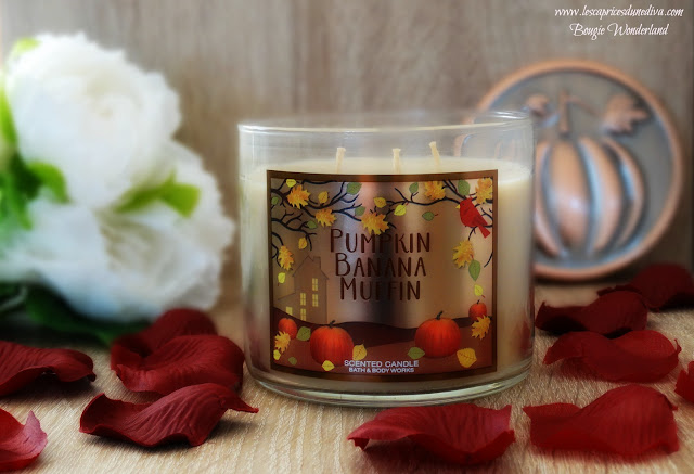 avis Pumpkin Banana Muffin de Bath & Body Works, blog bougie, blog parfum, blog beauté