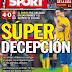 El diario Sport presenta un ERE para despedir a 35 trabajadores.