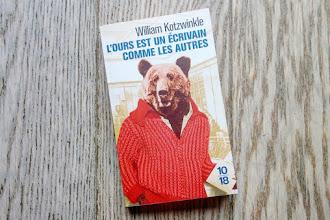 Lundi Librairie : L'ours est un écrivain comme les autres - William Kotzwinkle