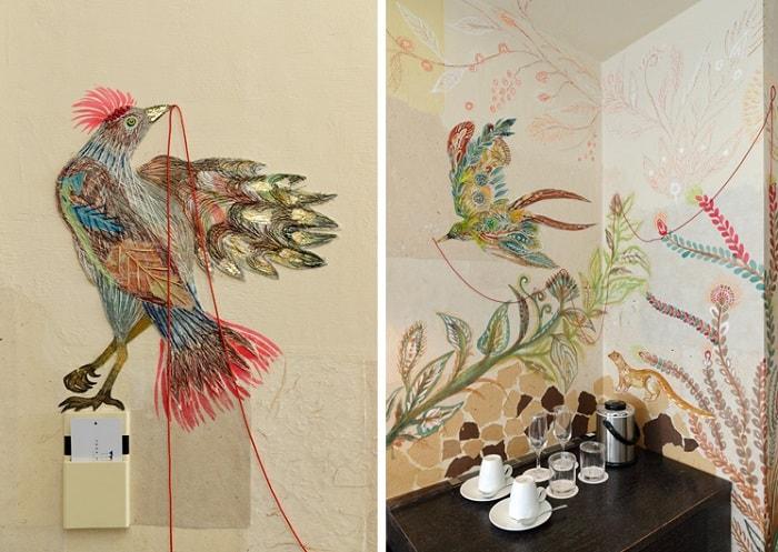 No. 31 – Park Hotel Tokyo Artist Room En designed by Mariko Kobayashi